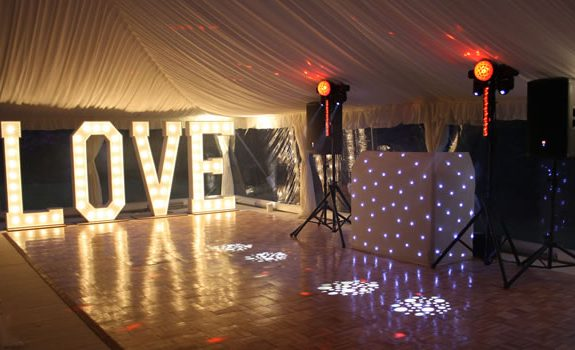 Mobile disco in The Lake District